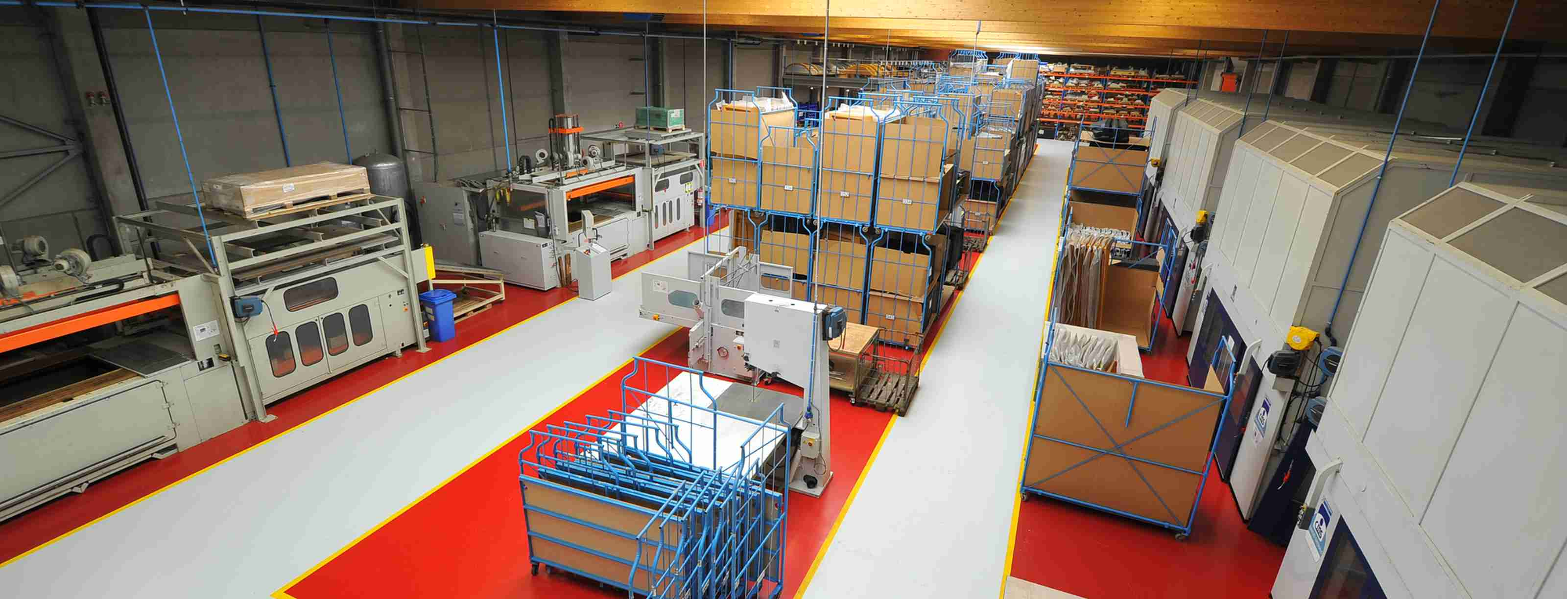 Thermoforming, folding, milling & Assembly